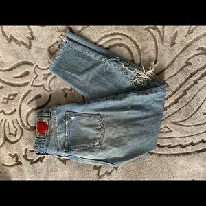 ZARA Woman Ripped Jeans